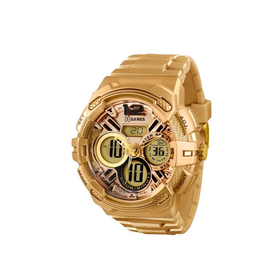 Relógio X-games Masculino Xmppa186 Dourado