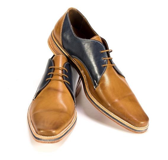 Zapato Vestir Hombre Cuero Premium Hogh Caballeros Zapatos