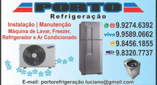 Ar Condicionado, Refrigerador E Máquina De Lavar