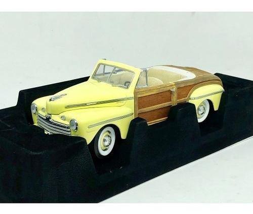 Miniatura Carro Ford Sportsman 1946 1:18 Yat Ming