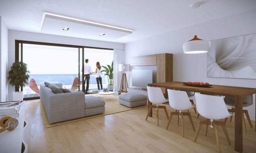 Venta Apartamento Monoambiente Rambla Malvín En Construcción
