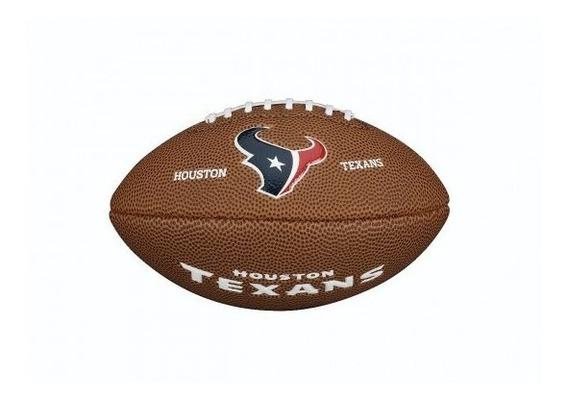 Balon Futbol Americano Nfl Mini Team Houston Texas Wilson