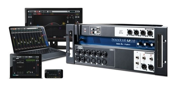 Mesa De Som Digital Soundcraft Ui16 Wi-fi Ui 16