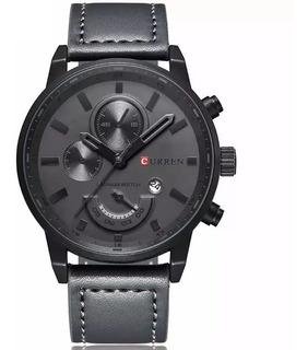 Reloj Hombre Curren Cuarzo Máquina Japonesa Modelo 8217