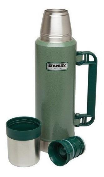 Termo Acero Stanley Pico Cebador 1,3 Litro Original Garantia