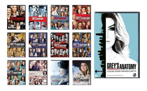 Grey ' S Anatomy Paquete Temporadas 1 - 13 Dvd