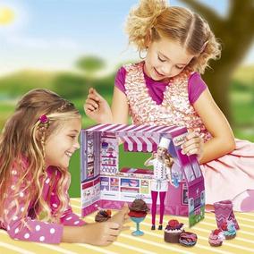 Massinha Barbie Sorvetes E Delícias Divertidas