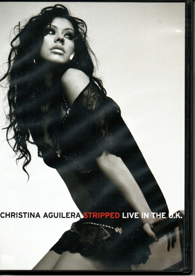 Dvd Chistina Aguilera - Stripped Live In The U.k.