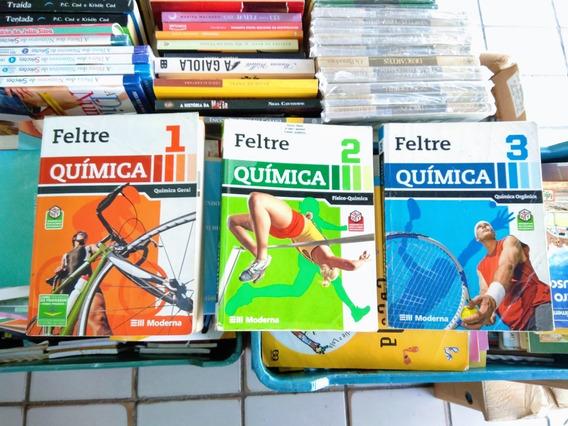 Coleção Química Ricardo Feltre 7° Ed. Ita Ime Med Enem