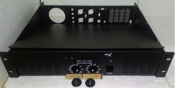 4 Caixa Gabinete Potência 3000w Amplificador +on/signal