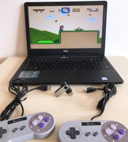 Super Nintendo Portátil 2 Controles Conectou,jogou + Bônus