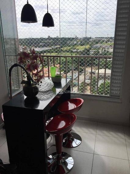 Apartamento Com 3 Dormitórios À Venda, 90 M² Por R$ 640.000 - Condomínio Residencial Winner - Sorocaba/sp - Ap1065