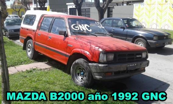 Mazda B2000 Pick-up Año 1992 Con Gnc