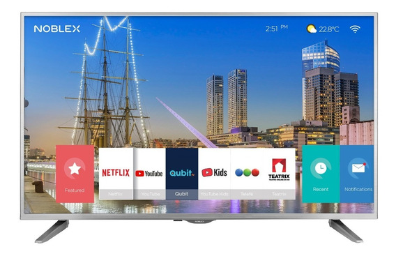 Tv Led Smart 4k 55 Noblex Dj55x6500
