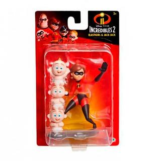 Increíbles 2 Figuras Elastigirl Y Jack-jack Disney Castelar