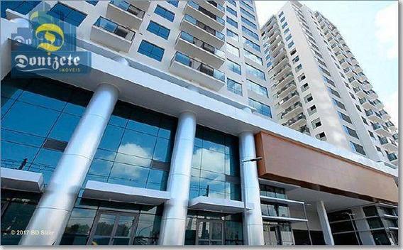 Sala À Venda, 38 M² Por R$ 265.000,00 - Campestre - Santo André/sp - Sa0522