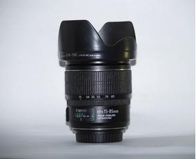Objetiva Canon Ef-s 15-85mm F3.5-5.6 Is Usm