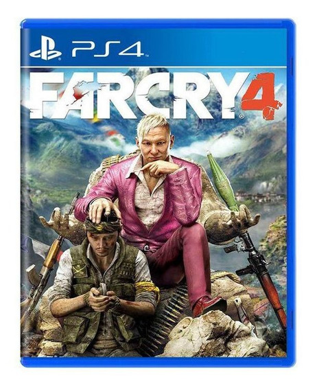 Far Cry 4 - Ps4 Mídia Física