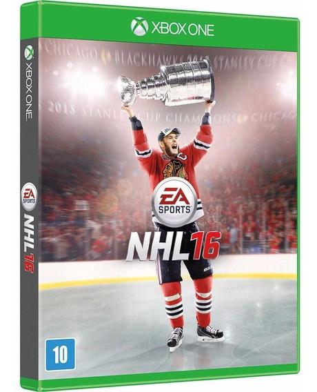 Nhl 16 Xbox One Mídia Física Novo Lacrado