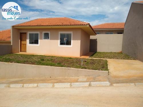 Imagem 1 de 15 de Vendo Casa Nova 3 Quartos Em Condomínio Fechado Pronta Para Morar - 603