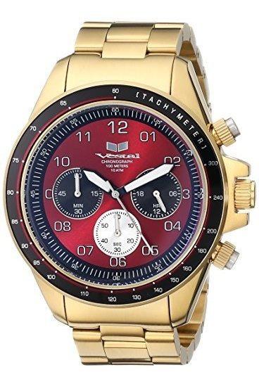Vestal Zr-2 Reloj Cronógrafo De Acero Inoxidable Para Hombre