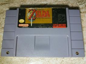 Zelda Original E Salvando Super Nintendo,cartucho,fita Snes