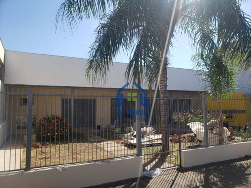 Barracão, 364 M² - Venda Por R$ 1.700.000,00 Ou Aluguel Por R$ 7.000,00/mês - Jardim América - São José Do Rio Preto/sp - Ba0061