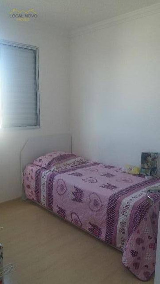 Apartamento Residencial Para Locação, Vila Alzira, Guarulhos. - Ap0228
