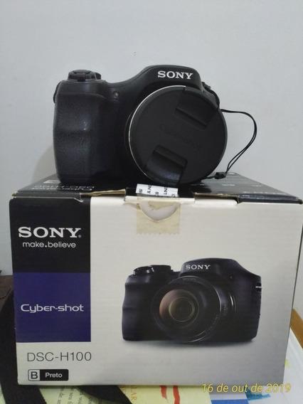 Câmera Fotográfica Cyber Shot H100