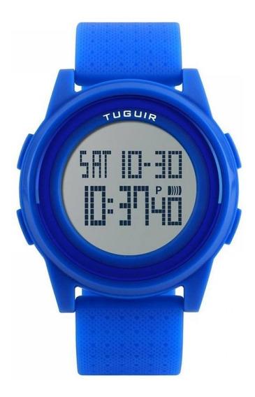 Relógio Unissex Tuguir Digital A Prova D Água + Nf 156