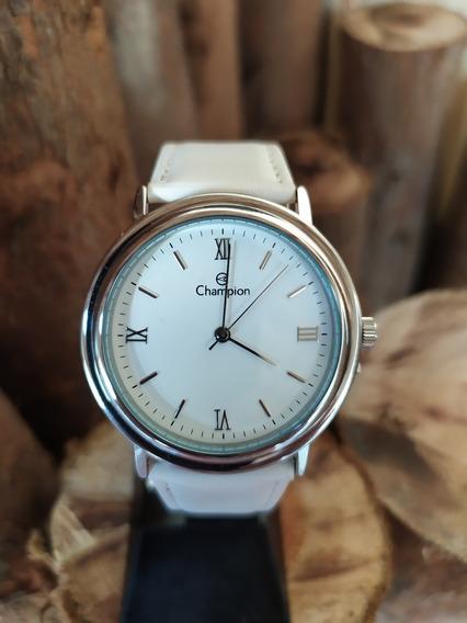 Relógio Feminino Champion Mod Ch22671d Branco