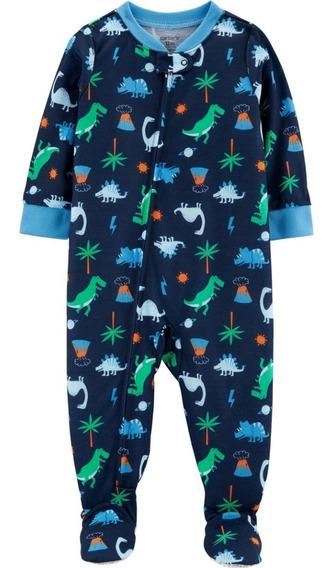 Pijama Enterito Carters Con Pies Antidesl Dinosaurios T3