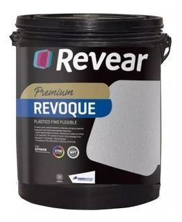 Revear Revestimiento Revoque Plastico Fino X 250kg Del Plata