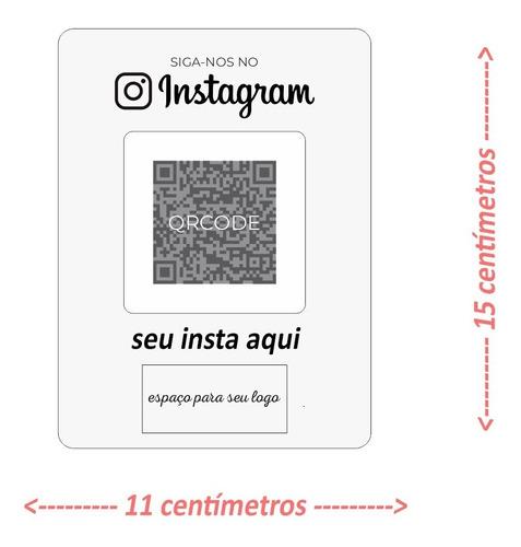 Imagem 1 de 3 de Placa Instagram Acrílico