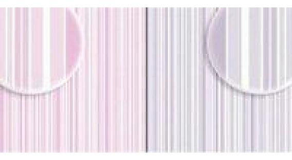 Repeteco - Duo Básico Listras Rosa/cinza - Lírio