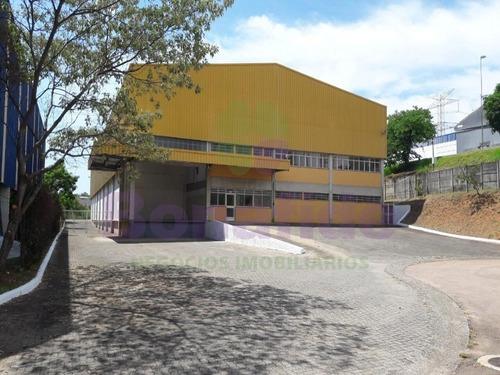 Galpão Industrial Localizado No Distrito Industrial, No Fazgran, Na Cidade De Jundiaí. - Gl08136 - 69217371