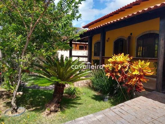 Casa Com 4 Dormitórios À Venda, 203 M² R$ 670.000 - Flamengo - Maricá/rj - Ca4063