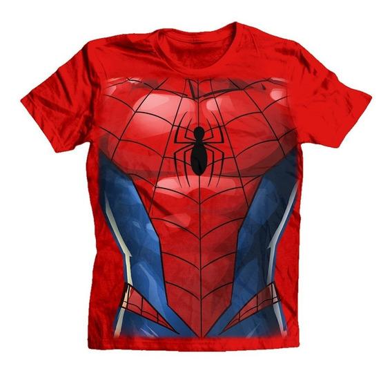 Playera Spiderman Torso
