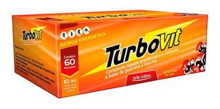 Turbovit (guaraná E Taurina) 60 Flac X 10ml - Arte Nativa