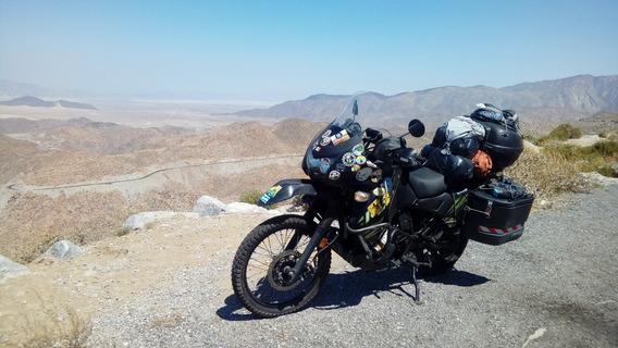 Permuto X 4x4 Kawasaki Klr 650 Lista Para Viajar Full Equipo