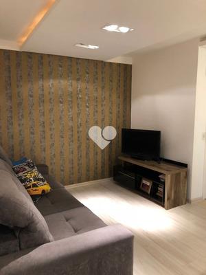 Apartamento - Vila Monte Carlo - Ref: 45164 - V-58467330