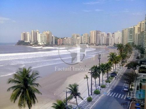 Apartamento Residencial Para Venda E Locação, Astúrias, Guarujá. - Ap8907