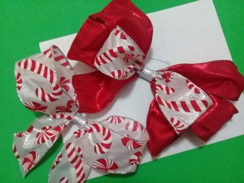 Imagen 1 de 3 de Moños Para Árbol De Navidad, Paquete De 12.