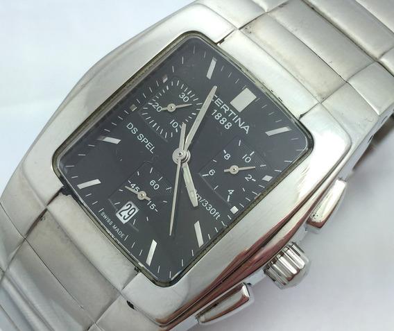 Relógio De Pulso Masculino Certina De Aço Original