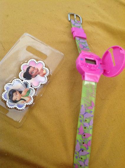 Relógio Fadas Disney Importado