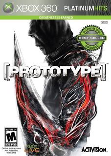 Prototype Xbox 360 Fisico
