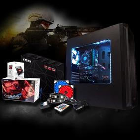 Cpu Gamer Amd 3.9ghz, 8gb, Ssd 120gb, Radeon Hd 8370d, Led