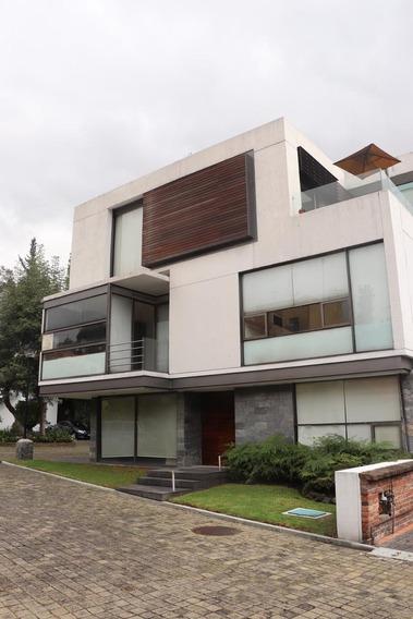 Renta Casa Excelente Condominio Fuentes Del Pedregal