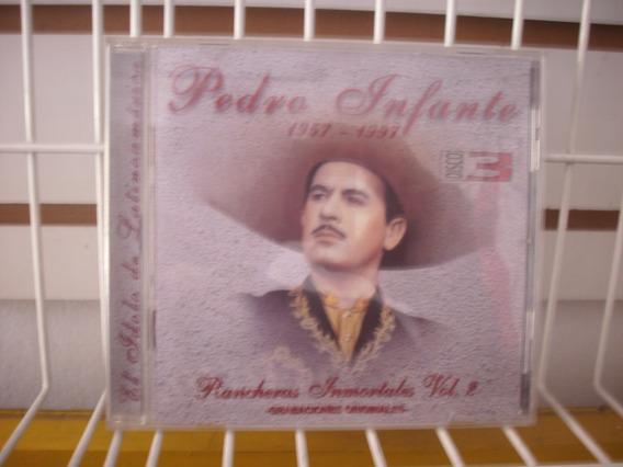 Pedro Infante - Rancheras Inmortales Cd #3 Muy Buen Estado