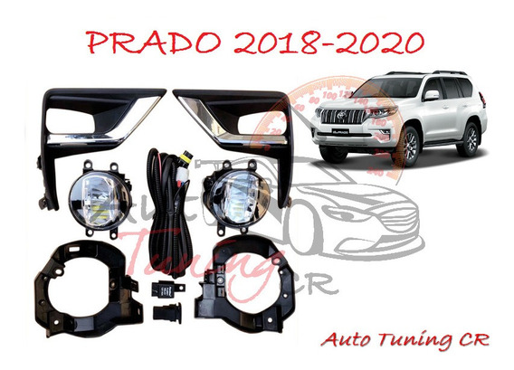 Halogenos Led Toyota Land Cruiser Prado 2018-2020